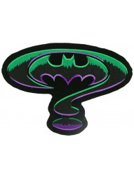 GIANT BATMAN CREST EMBROIDERED PATCH (P5)