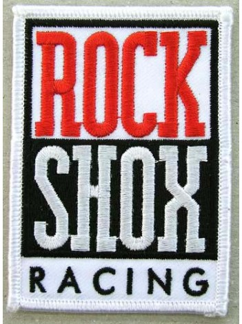 ROCK SHOX CYCLING BICYCLE EMBROIDERED PATCH #01