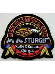 Black Hills Motor Classic Embroidered Patch #01