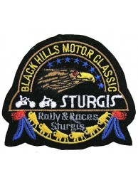 Black Hills Motor Classic Embroidered Patch #02