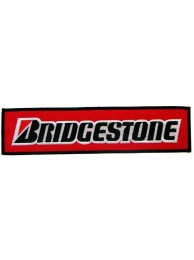 GIANT BRIDGESTONE RACING EMBROIDERED PATCH (K2)