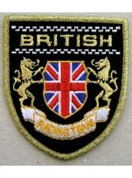 British Racing Team Shield Embroidered Patch #03