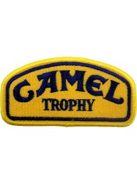 CAMEL SPORT IRON ON EMBROIDERED PATCH #04 (Blue)
