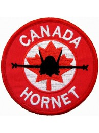 RCAF CANADIAN AIRFORCE F18 HORNET PATCH