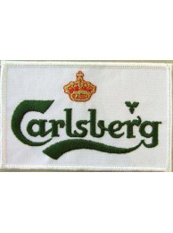 CARLSBERG BEER IRON ON EMBROIDERED PATCH #03