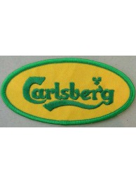 CARLSBERG BEER IRON ON EMBROIDERED PATCH #06