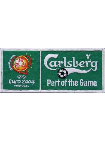 CARLSBERG BEER IRON ON EMBROIDERED PATCH #07