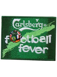 CARLSBERG BEER IRON ON EMBROIDERED PATCH #08