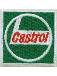 CASTROL OIL RACING SPORT EMBROIDERED PATCH #09