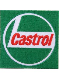 CASTROL OIL RACING SPORT EMBROIDERED PATCH #10