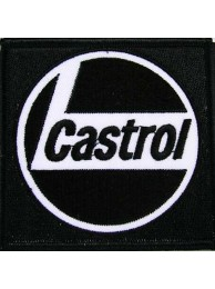 CASTROL OIL RACING SPORT EMBROIDERED PATCH #11