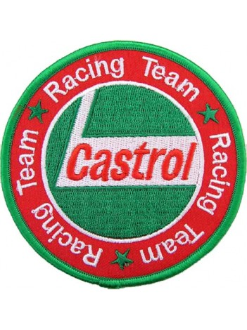 CASTROL OIL RACING SPORT EMBROIDERED PATCH #14