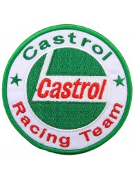CASTROL OIL RACING SPORT EMBROIDERED PATCH #15