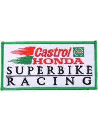 CASTROL OIL RACING SPORT EMBROIDERED PATCH #17