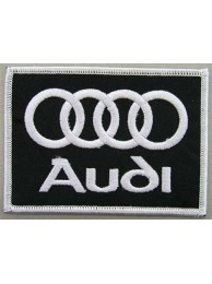 AUDI AUTOMOBILE IRON ON EMBROIDERED PATCH #04