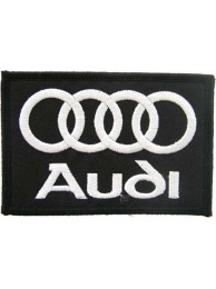 AUDI AUTOMOBILE IRON ON EMBROIDERED PATCH #05