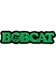 BOBCAT TRACTOR LOGO EMBROIDERED PATCH #01