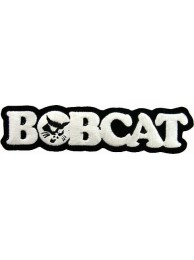 BOBCAT TRACTOR LOGO EMBROIDERED PATCH #04