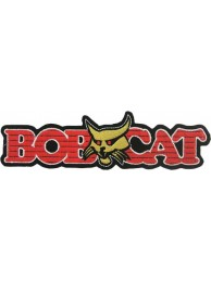 BOBCAT TRACTOR LOGO EMBROIDERED PATCH #06