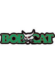 BOBCAT TRACTOR LOGO EMBROIDERED PATCH #07