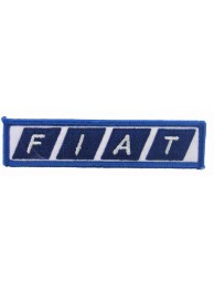 FIAT AUTOMOBILE EMBROIDERED PATCH #01