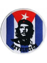 CHE GUEVARA CUBA SUPER HERO EMBROIDERED PATCH #01
