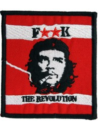 CHE GUEVARA CUBA SUPER HERO EMBROIDERED PATCH #04