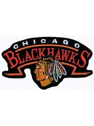 NHL CHICAGO BLACKHAWKS HOCKEY EMBROIDERED PATCH #1