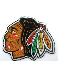 NHL CHICAGO BLACKHAWKS HOCKEY EMBROIDERED PATCH #2
