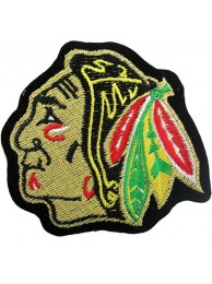 NHL CHICAGO BLACKHAWKS HOCKEY EMBROIDERED PATCH #3