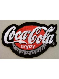 Coca-Cola Soda Iron On Embroidered Patch #07