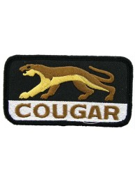 MERCURY COUGAR AUTO EMBROIDERED PATCH