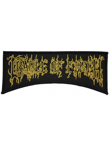 CRADLE OF FILTH THE BAND PUNK & ROCK PATCH #01