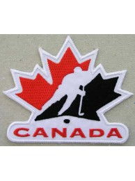 CANADA HOCKEY ASSOCIATION EMBROIDERED PATCH #01