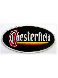 CHESTERFIELD RACING SPORT IRON ON EMBROIDERED PATCH