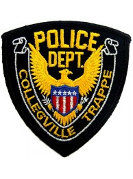 COLLEGVILLE TRAPPE POLICE PATCH