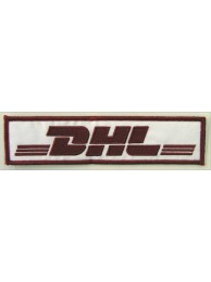 DHL IRON ON EMBROIDERED PATCH