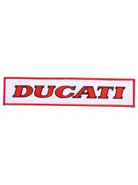 GIANT DUCATI BIKER EMBROIDERED PATCH (K3)