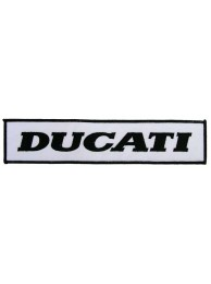 GIANT DUCATI BIKER EMBROIDERED PATCH (K7)