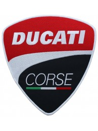 GIANT DUCATI CORSE BIKER EMBROIDERED PATCH (L8)
