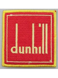 DUNHILL IRON ON EMBROIDERED PATCH #01