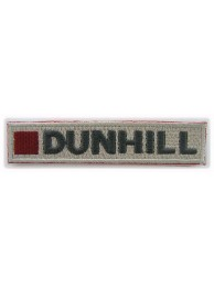 DUNHILL IRON ON EMBROIDERED PATCH #03