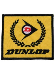 DUNLOP TIRE TYRE RACING SPORT EMBROIDERED PATCH #01