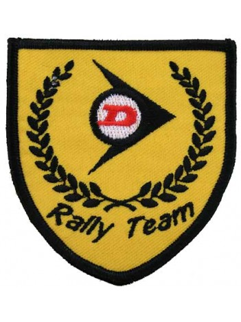 DUNLOP TIRE TYRE EMBROIDERED PATCH #02