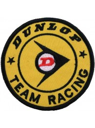 DUNLOP TIRE TYRE EMBROIDERED PATCH #03