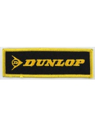 DUNLOP TIRE TYRE RACING SPORT EMBROIDERED PATCH #05