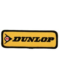 DUNLOP TIRE TYRE EMBROIDERED PATCH #05