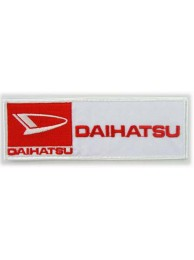 DAIHATSU RACING SPORT IRON ON EMBROIDERED PATCH #01