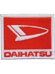 DAIHATSU RACING SPORT IRON ON EMBROIDERED PATCH #02