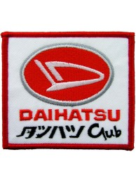 DAIHATSU RACING SPORT IRON ON EMBROIDERED PATCH #05